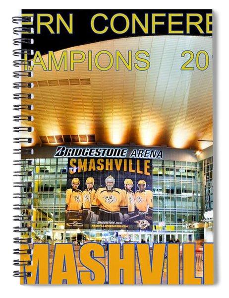 Smashville Western Conference Champions 2017 Spiral Notebook