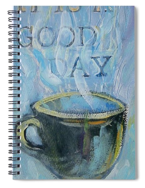 Smell The Coffee Spiral Notebook