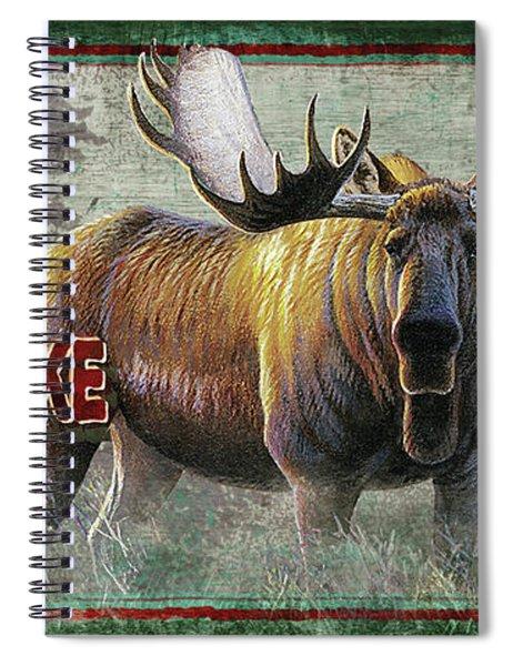 Smells Like Bull Sign Spiral Notebook
