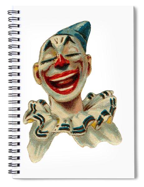 Smiley Spiral Notebook by ReInVintaged
