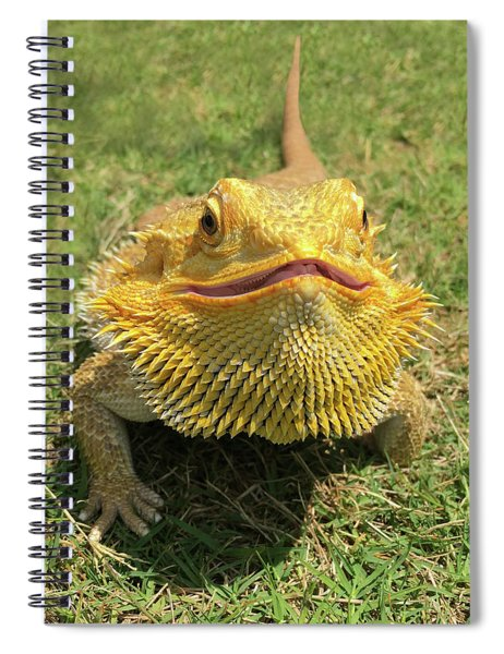 Smiling Bearded Dragon  Spiral Notebook