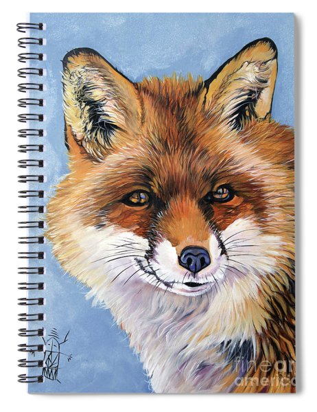 Smiling Fox Spiral Notebook