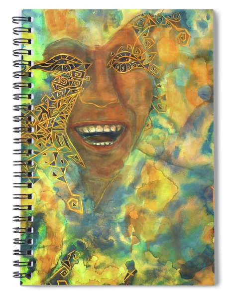 Smiling Muse No. 3 Spiral Notebook