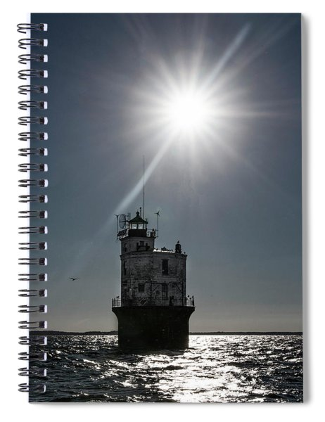Smith Point Lighthouse Spiral Notebook