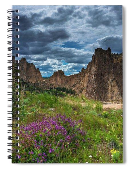 Smith Rock Spiral Notebook