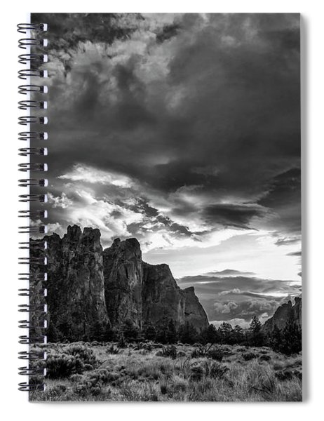 Smith Rock Fury Spiral Notebook