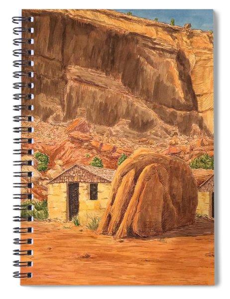 Smiths Cabin  Spiral Notebook
