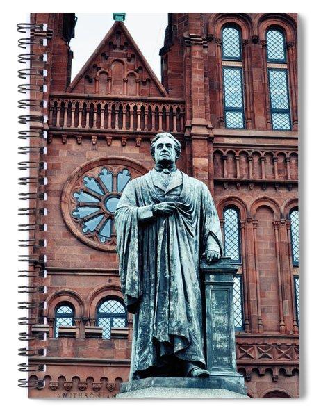 Smithsonian Castle  Spiral Notebook