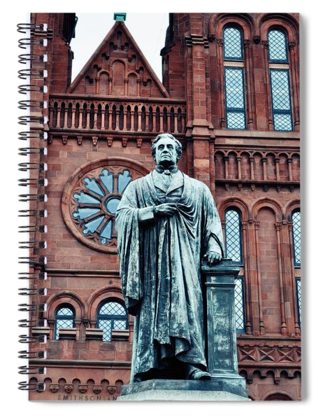 Smithsonian Castle  Spiral Notebook