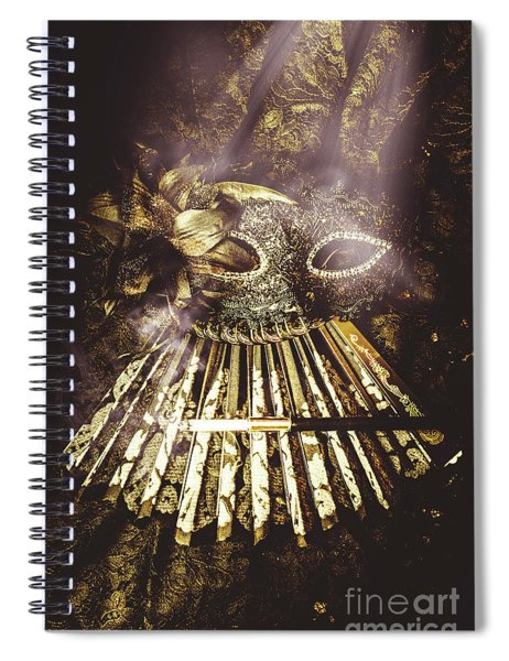 Smoke And Theatres Spiral Notebook