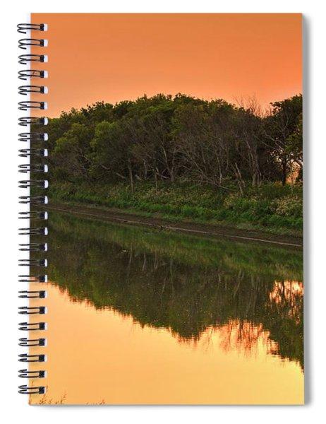 Smoke Haze River Spiral Notebook