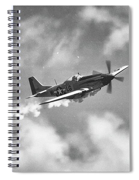 Smokin 51 Bw Spiral Notebook