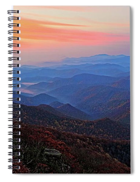 Dawn From Standing Indian Mountain Spiral Notebook