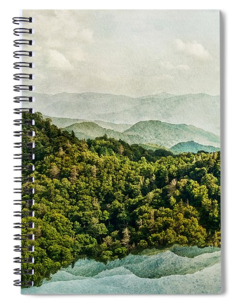 Smoky Mountain Reflections Spiral Notebook