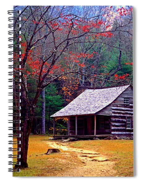 Smoky Mtn. Cabin Spiral Notebook