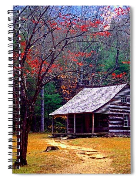 Smoky Mtn. Cabin Spiral Notebook