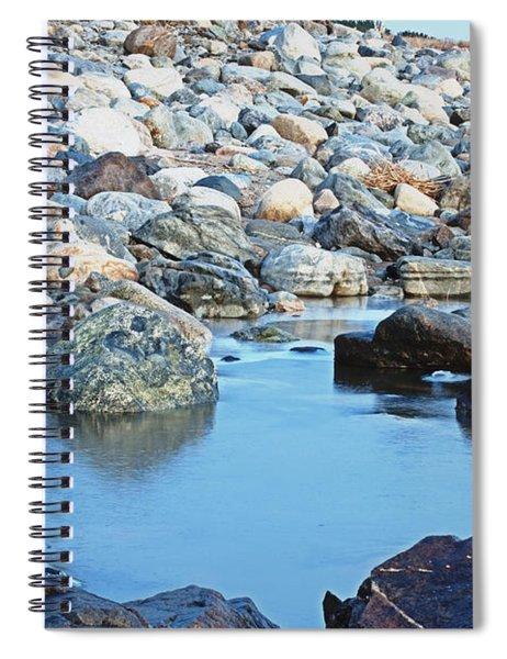 Smooth Rocks Spiral Notebook