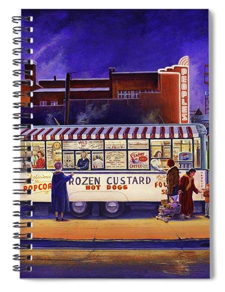 Snack Wagon Spiral Notebook