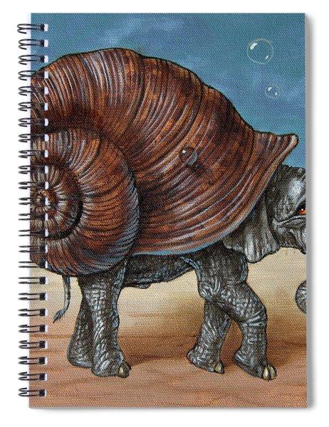 Snailephant Spiral Notebook