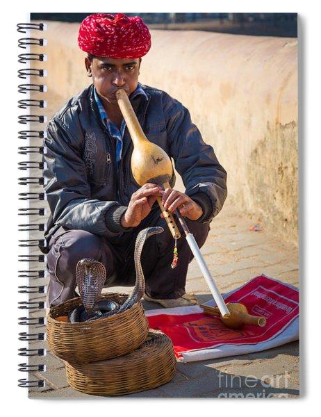 Snake Charmer Spiral Notebook