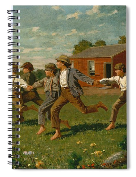 Snap The Whip Spiral Notebook