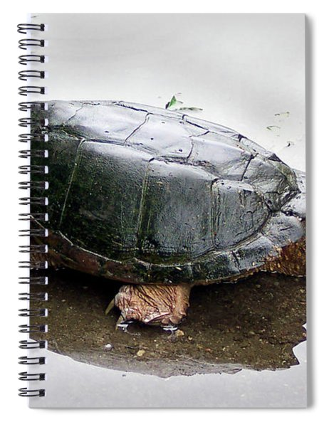 Snapping Turtle Spiral Notebook