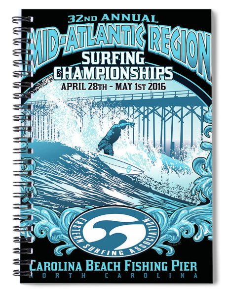Snc Esa Mid Atlantic Spiral Notebook