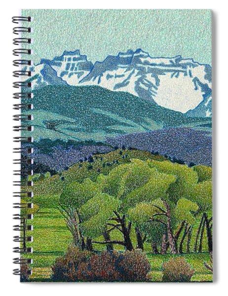 Sneffels Range Spring Spiral Notebook