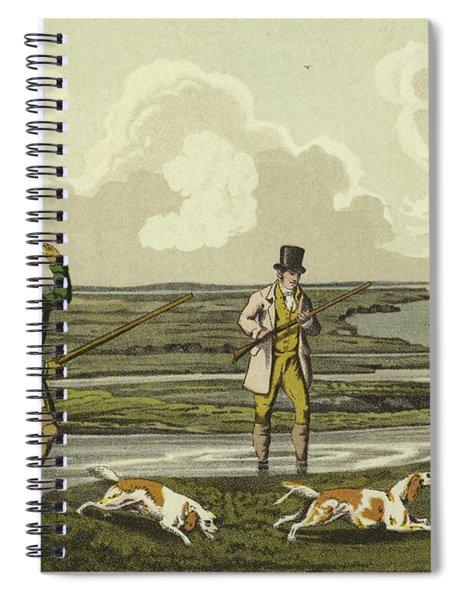 Snipe Shooting Spiral Notebook