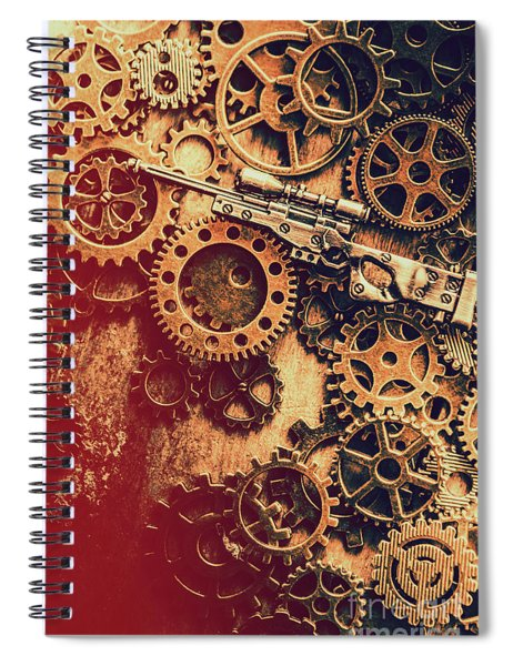 Sniper Rifle Fine Art Spiral Notebook