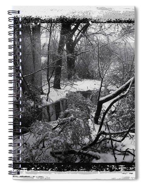 Snow 2018 Spiral Notebook