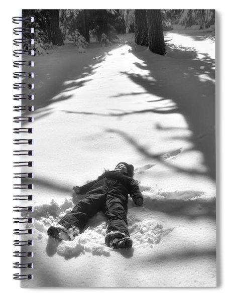 Snow Angel Spiral Notebook
