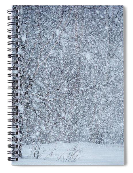 Snow Blind Spiral Notebook