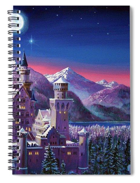 Snow Castle Spiral Notebook