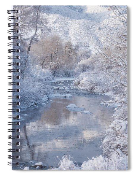 Snow Creek Spiral Notebook