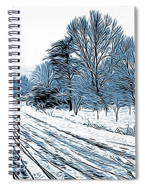Snow Day Spiral Notebook
