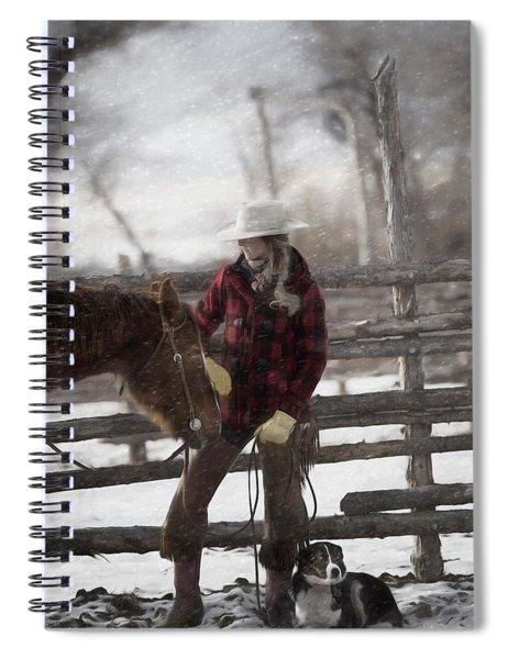 Snow Days Spiral Notebook