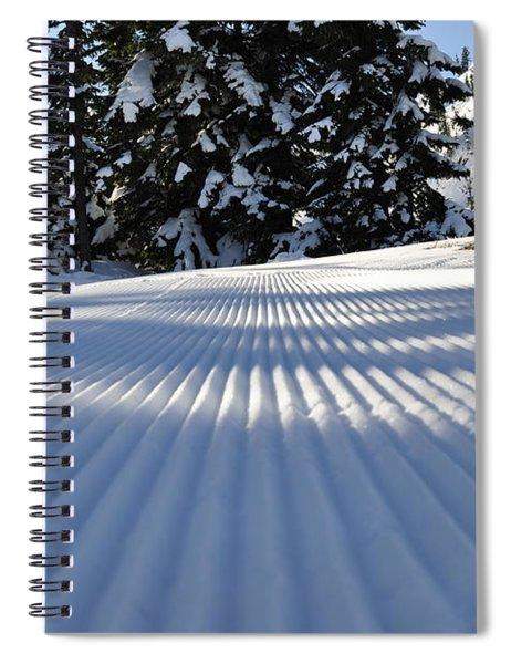 Snow Is Groovy Man Spiral Notebook