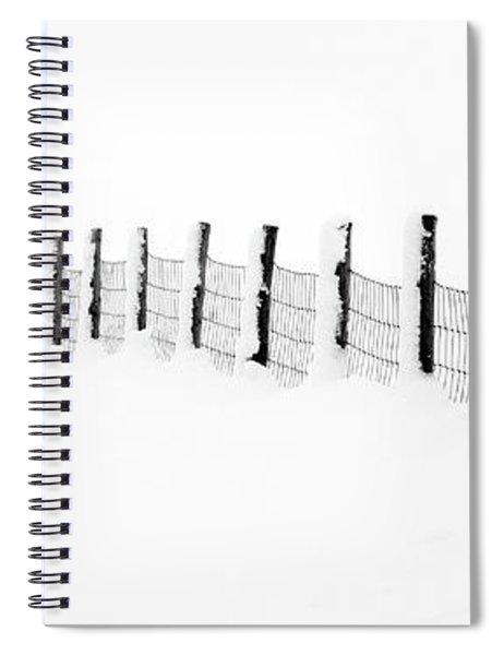 Snow Line Spiral Notebook