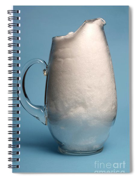 Snow Melting 1 Of 7 Spiral Notebook