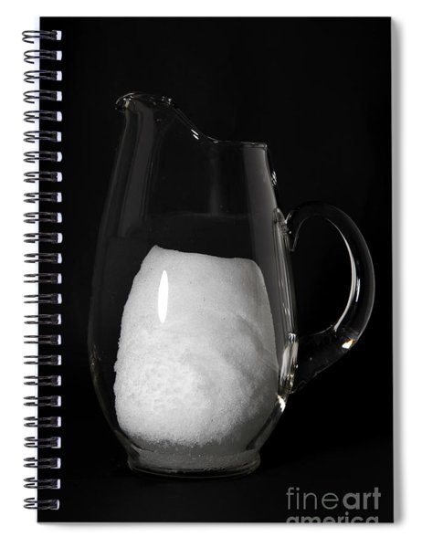 Snow Melting 3 Of 8 Spiral Notebook