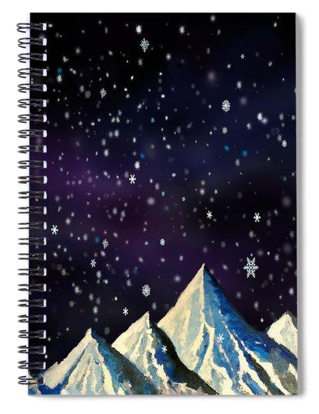 Snowfakes Spiral Notebook