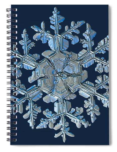 Snowflake Photo - Gardener's Dream Spiral Notebook
