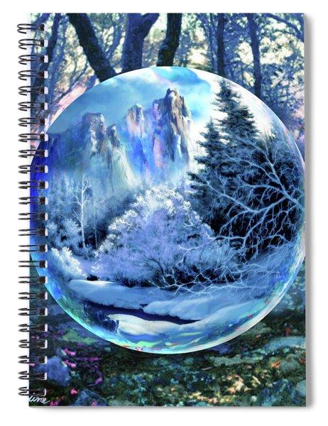 Snowglobular Spiral Notebook