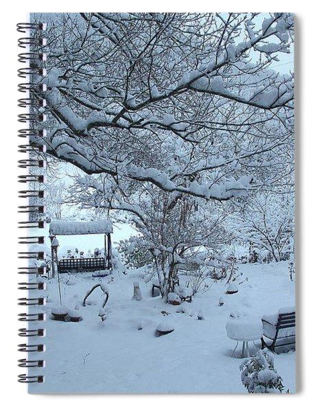 Snowplosion Spiral Notebook