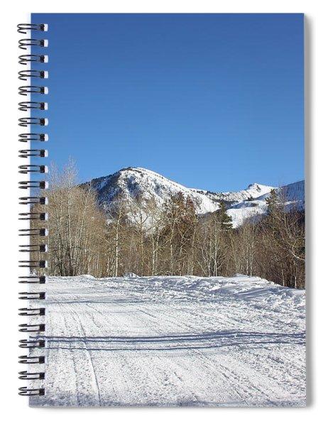 Snowy Aspen Spiral Notebook