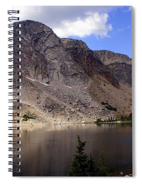 Snowy Mountian Loop 8 Spiral Notebook