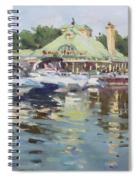 Snug Harbour Mississauga On Spiral Notebook