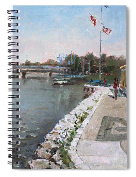 Snug Harbour Restaurant Spiral Notebook