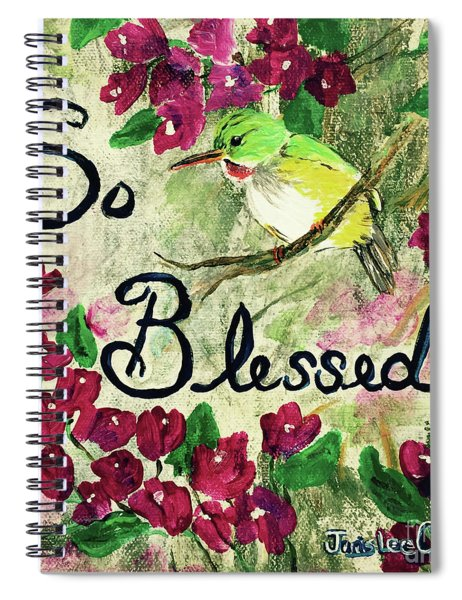 So Blessed Spiral Notebook